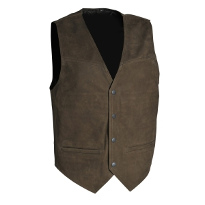 Motorcycle clothing Gilet Nubbuck  by G&F