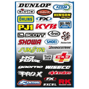 Motorcycle accessories FX Sticker Kit A by Büse