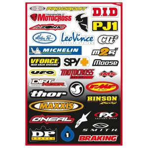 Motorcycle accessories FX Sticker Kit B by Büse