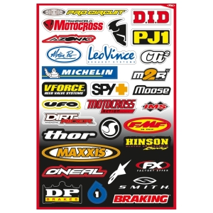 Motoraccessoires FX Sticker Kit B by Büse