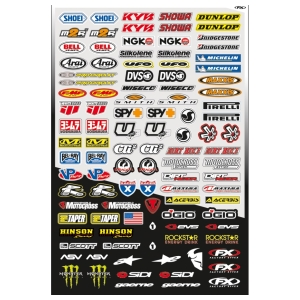 Motorcycle accessories FX Micro Sticker Kit M by Büse