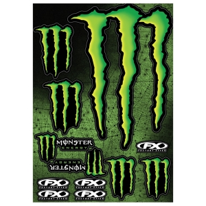 Motoraccessoires FX Sticker Kit Monster by Büse