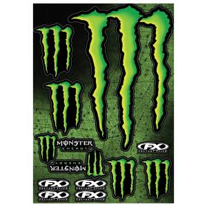 Accessoires de moto FX Sticker Kit Monster by Büse