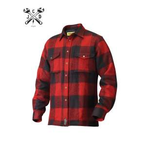 Vêtements de moto Lumberjack Shirt Kevlar by John Doe