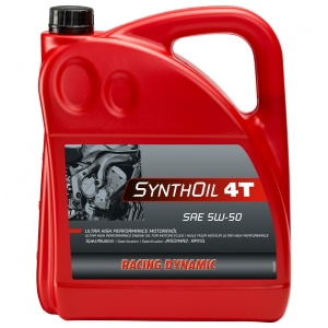 Maintenance products Synthoil 4T SAE 5W-50 4L Synth by PS