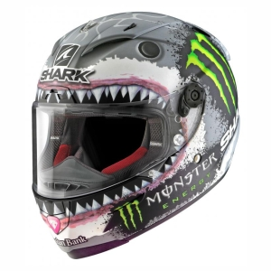 Motorhelm Race-R Pro Lorenzo White Shark by Shark