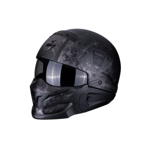 Motorhelm EXO Combat Stealth by Scorpion
