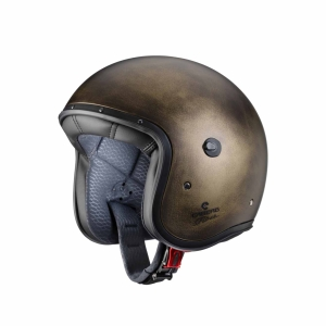 Motorhelmen Jet Freeride Bronze Brushed by Caberg