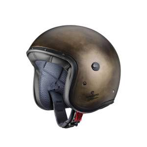 Motorhelm Jet Freeride Bronze Brushed by Caberg