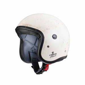 Motorhelm Jet Freeride Old White by Caberg