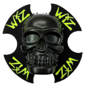 Motorcycle clothing Wiz Skull by WIZ