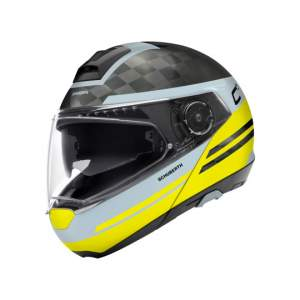 Casques de moto Helm C-4 Pro Carbon Tempest by Schuberth