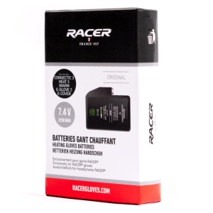 Gants chauffants Racer Long Life batterij by Racer