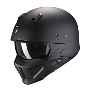 Motorhelm EXO Covert X Solid by Scorpion