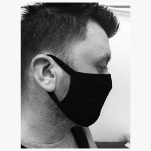 Motorkledij Mondmasker Black Eyes by Had