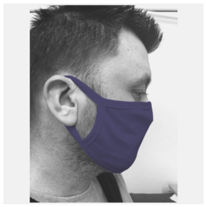 Motorkledij Mondmasker Navy by Had