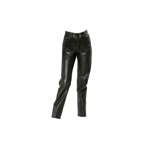 Motorbroeken Jeans leder Lady by G&F