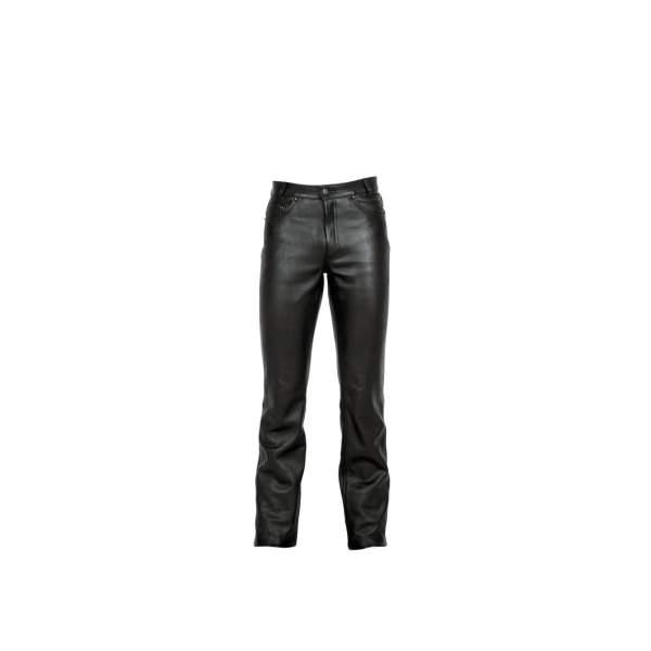 Motorbroeken Jeans leder  by G&F