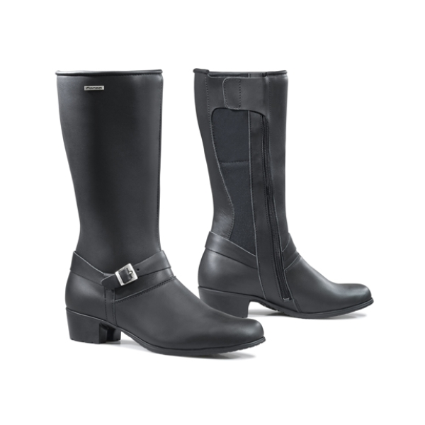 Motorcycle boots Ivory by Forma