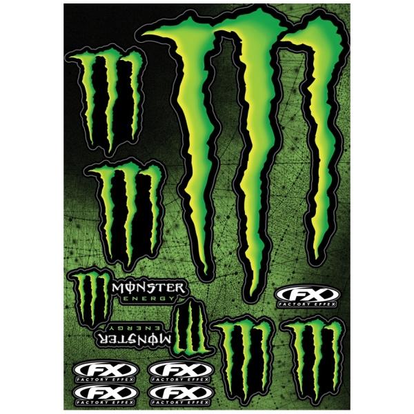 Motoraccessoires FX Sticker Kit Monster by Büse