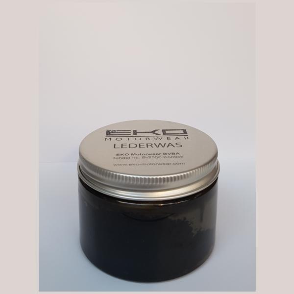 Onderhoudsproducten Lederwas zwart 150ml by EKO