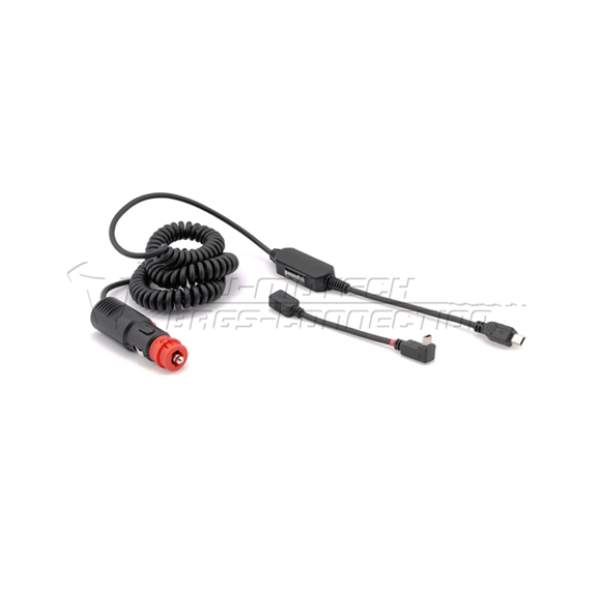 Motorcycle accessories 12v Adapter Kabel Met Plug 100 by SW Motech
