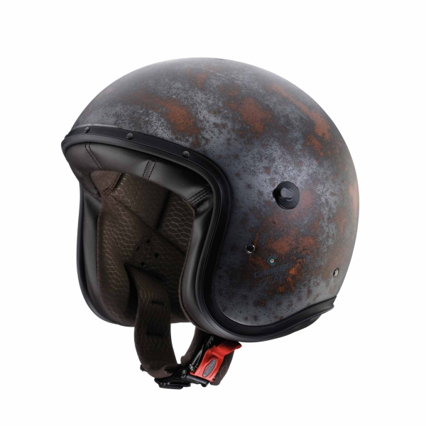 Motorhelmen Jet Freeride Rusty by Caberg