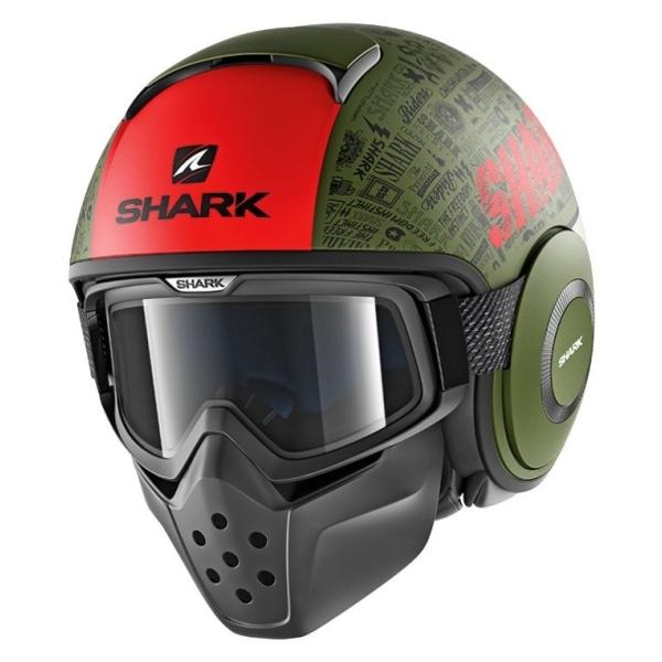 Motorhelmen Drak Tribute by Shark