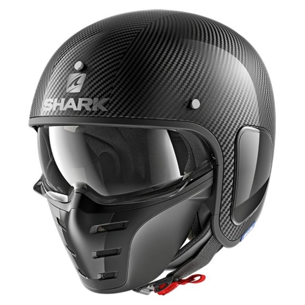Motorhelmen S-Drak Carbon Skin by Shark