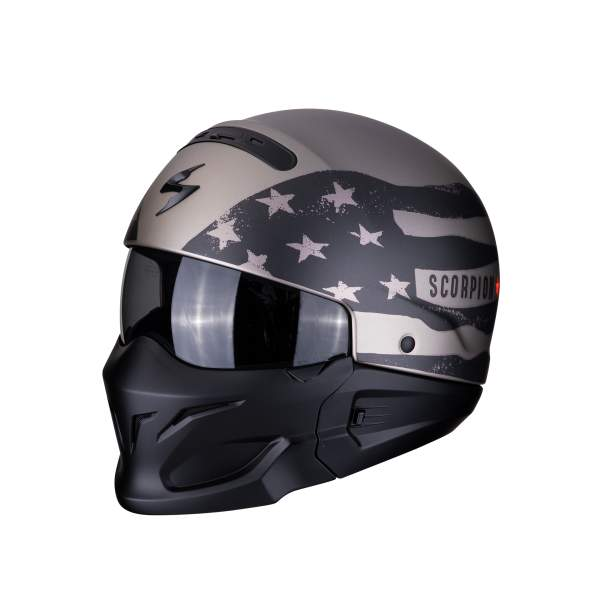 Motorhelmen EXO Combat Rookie by Scorpion