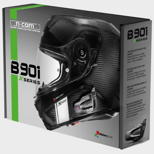 Communicatie motorfiets B901X X1004/1003/702/661/551 by Nolan