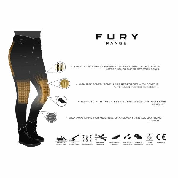 Motorkledij Fury Evo by Bull-It