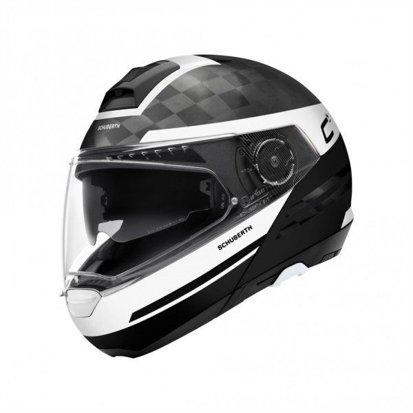 Systeemhelm Helm C-4 Pro Carbon Tempest by Schuberth
