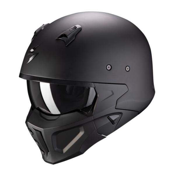 Casques de moto Covert X Solid by Scorpion