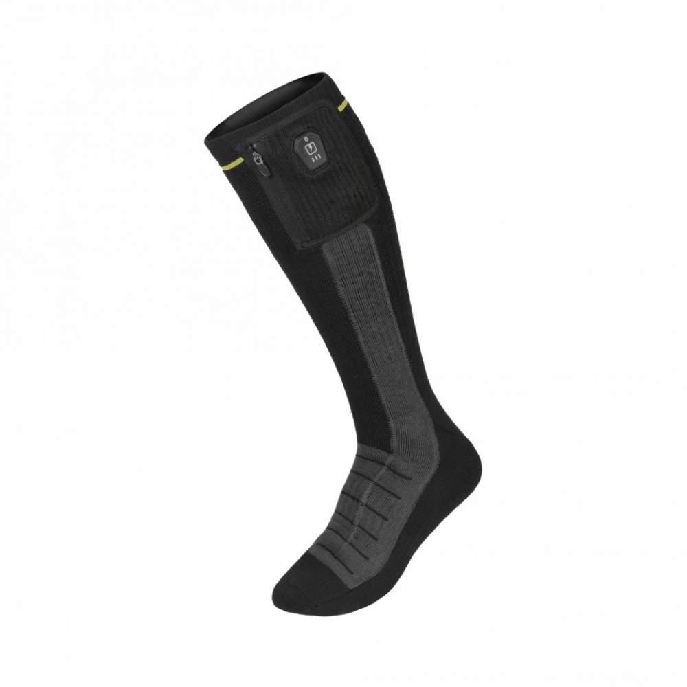 Verwarmde sokken op batterijen