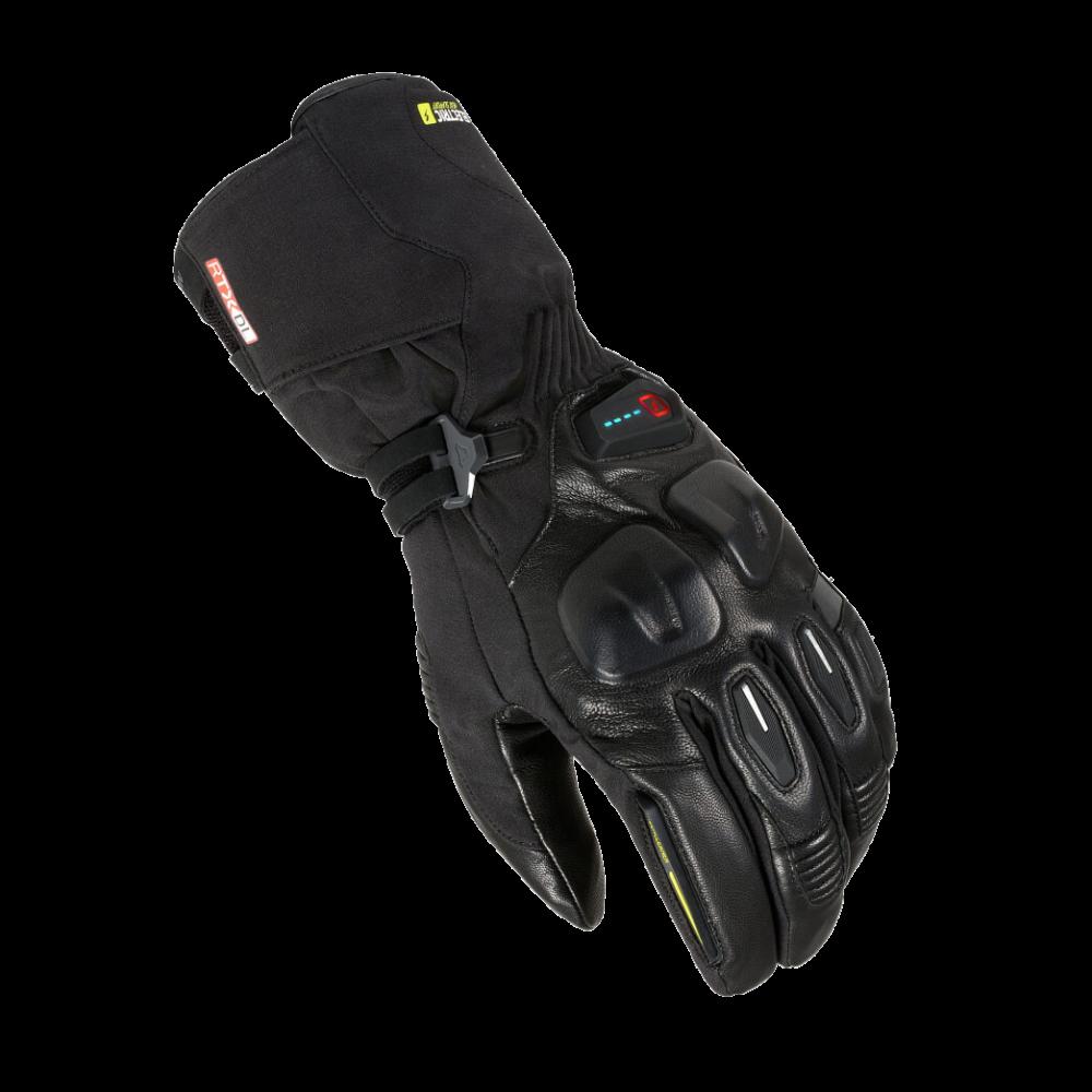 Verwarmde motorhandschoenen op batterijen motor