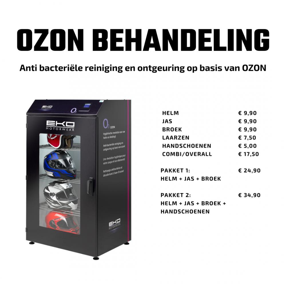 Kleding reinigen op basis van ozon